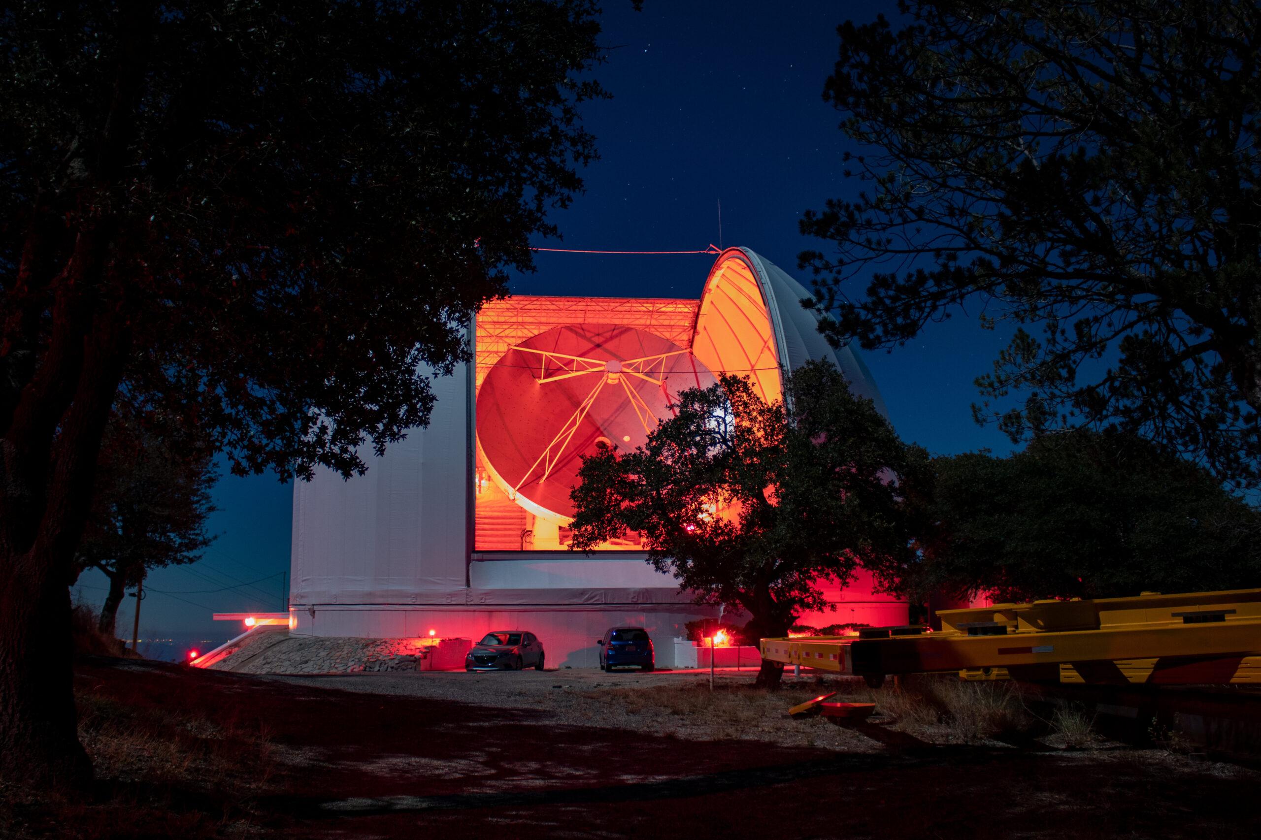 Licht im Dunkeln | Teleskop auf Kit Peak